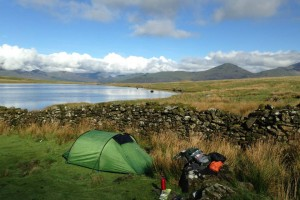 Guided wild camping Holidays Snowdonia