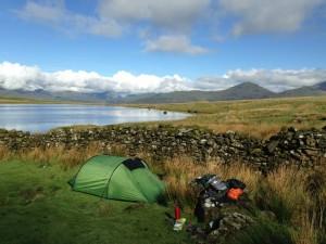 Guided wild camping Holidays Snowdonia