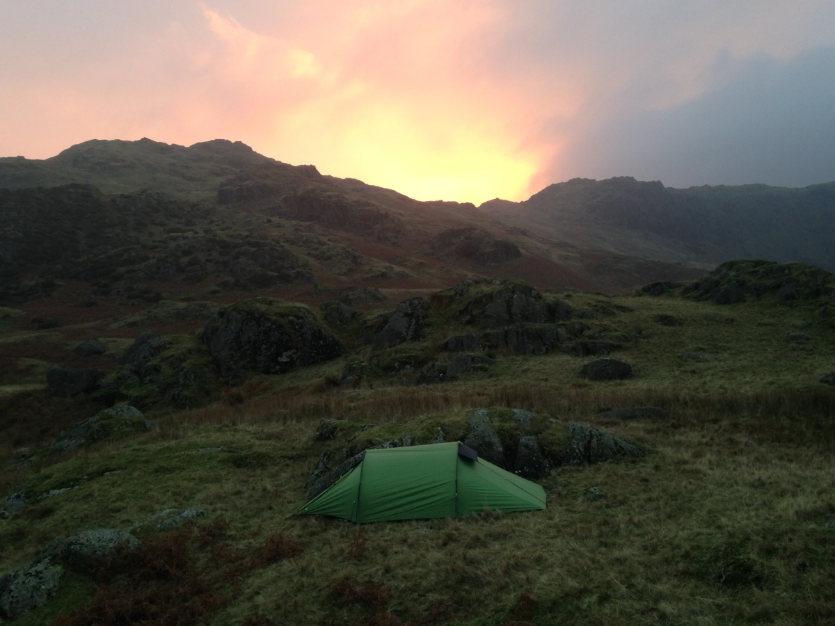 Wild camping in the Lake District Come Walk With Me