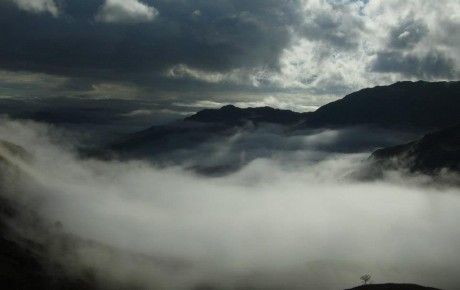 Cloud inversion seen from the Pike o'Stickle
