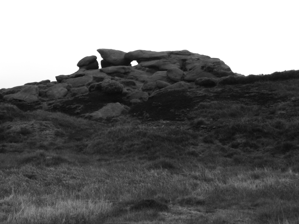 The Hern Stones on Bleaklow